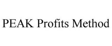 PEAK PROFITS METHOD