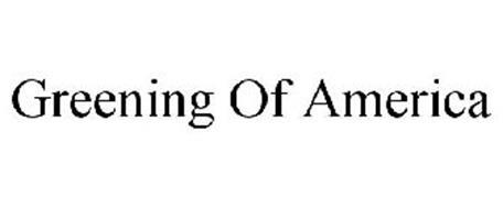 GREENING OF AMERICA