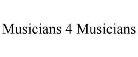 MUSICIANS 4 MUSICIANS