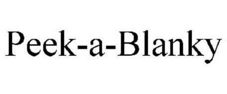 PEEK-A-BLANKY