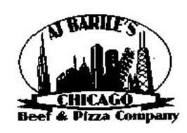 AJ BARILE'S CHICAGO BEEF & PIZZA COMPANY