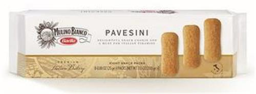 MULINO BIANCO BARILLA - PAVESINI DELIGHTFUL SNACK COOKIE AND A MUST FOR ITALIAN TIRAMISU - PREMIUM ITALIAN BAKERY - PRODUCT OF ITALY