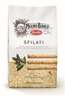 MULINO BIANCO BARILLA - SFILATI OVEN BAKED BREADSTICKS WITH GREEN AND BLACK OLIVES - PREMIUM ITALIAN BAKERY - PRODUCT OF ITALY
