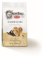 MULINO BIANCO BARILLA CUORICINI CHOCOLATE CHIP HEART-SHAPED COOKIE PREMIUM ITALIAN BAKERY PRODUCT OF ITALY