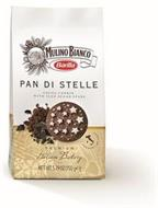MULINO BIANCO BARILLA PAN DI STELLE COCOA COOKIE WITH ICED SUGAR STARS PREMIUM ITALIAN BAKERY PRODUCT OF ITALY