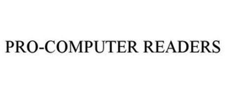 PRO-COMPUTER READERS