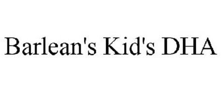 BARLEAN'S KID'S DHA