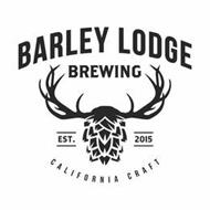 BARLEY LODGE BREWING EST. 2015 CALIFORNIA CRAFT