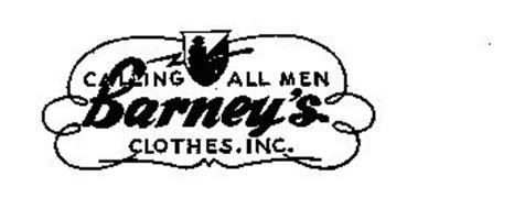 BARNEYS CALLING ALL MEN CLOTHES, INC.