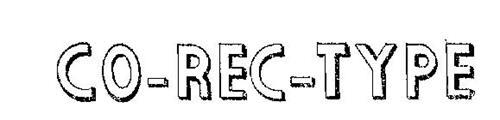 CO-REC-TYPE