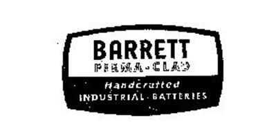 BARRETT PERMA-CLAD HANDCRAFTED INDUSTRIAL BATTERIES