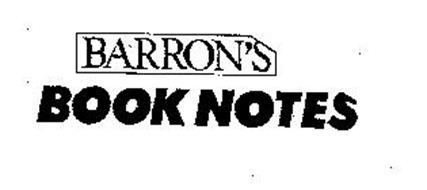 BARRON'S BOOK NOTES