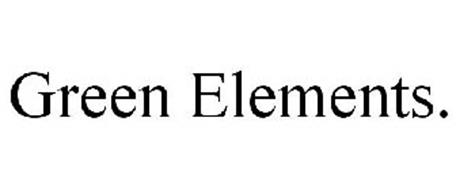 GREEN ELEMENTS.