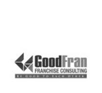 GOODFRAN FRANCHISE CONSULTING BE GOOD TO EACH OTHER