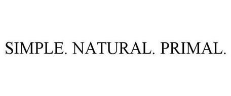 SIMPLE. NATURAL. PRIMAL.