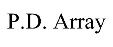 P.D. ARRAY