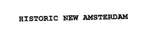 HISTORIC NEW AMSTERDAM