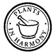 PLANTS IN HARMONY