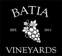 BATIA VINEYARDS EST. 2011