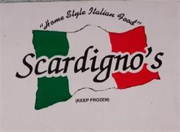 """HOME STYLE ITALIAN FOOD"" SCARDIGNO'S (KEEP FROZEN)"