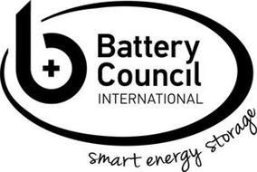 B BATTERY COUNCIL INTERNATIONAL SMART ENERGY STORAGE
