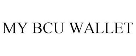 MY BCU WALLET