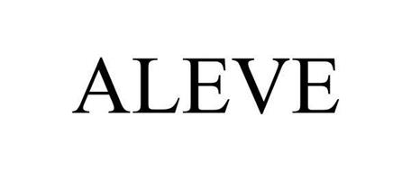 ALEVE Trademark of Bayer HealthCare LLC. Serial Number ...