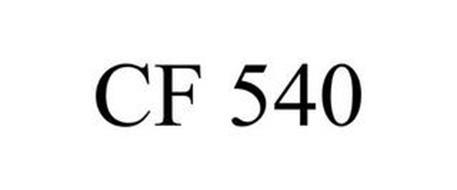 CF 540