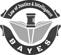 LAW OF JUSTICE & INTELLIGENCE BAYES