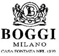 B BOGGI MILANO CASA FONDATA NEL 1939