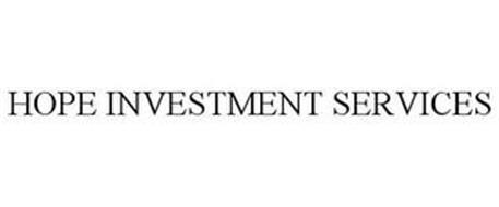 HOPE INVESTMENT SERVICES
