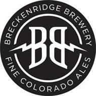BRECKENRIDGE BREWERY FINE COLORADO ALES BB