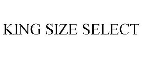 KING SIZE SELECT