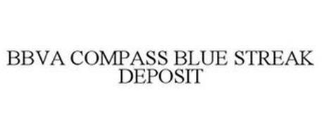 BBVA COMPASS BLUE STREAK DEPOSIT