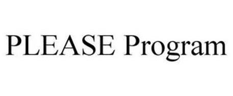 PLEASE PROGRAM