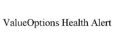 VALUEOPTIONS HEALTH ALERT
