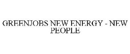 GREENJOBS NEW ENERGY - NEW PEOPLE