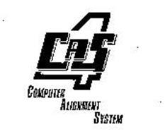 4 CAS COMPUTER ALIGNMENT SYSTEM
