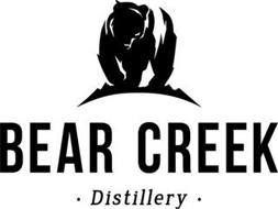 BEAR CREEK · DISTILLERY ·