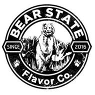 BEAR STATE FLAVOR CO. SINCE 2016