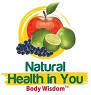 BODY WISDOM NATURAL HEALTH IN YOU BODY WISDOM