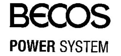 BECOS POWER SYSTEM