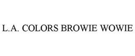 L.A. COLORS BROWIE WOWIE