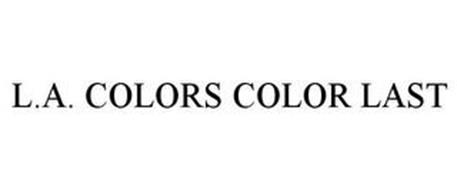 L.A. COLORS COLOR LAST