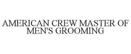 AMERICAN CREW MASTER OF MEN'S GROOMING