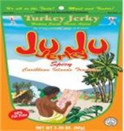 JU JU JERKY  CARIBBEAN ISLANDS TRADITION