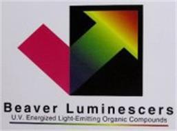 BEAVER LUMINESCERS U.V. ENERGIZED LIGHT-EMITTING ORGANIC COMPOUNDS