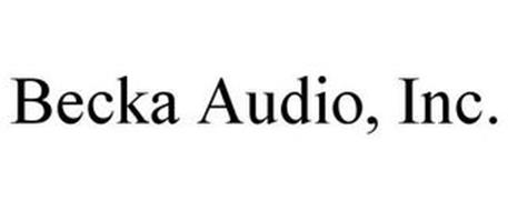 BECKA AUDIO, INC.