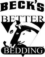 BECK'S BETTER BEDDING