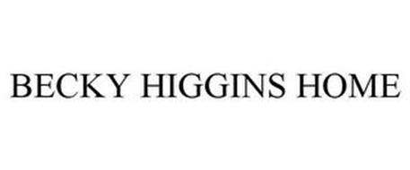 BECKY HIGGINS HOME